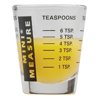 CUP MEASURING MINI BLK 1OZ