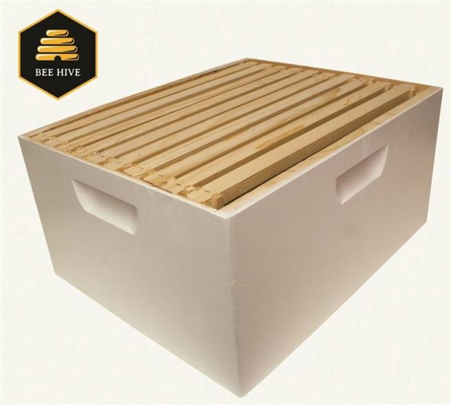 BEEHIVE BOX DEEP BROOD W/FRAME