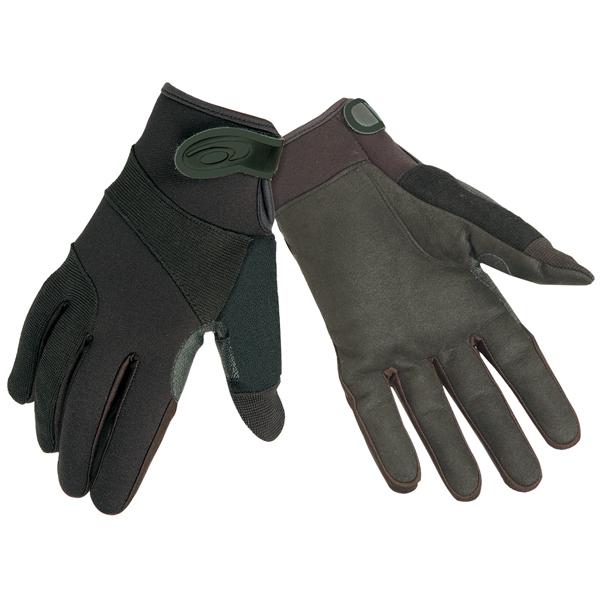 StreetGuard Gloves w/Kevlar, Black, Large