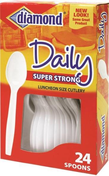Jarden 00044 Heavy Duty Spoon, Polystyrene