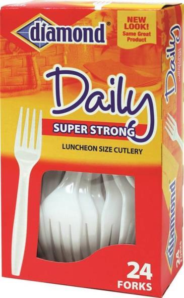 Jarden 00047 Heavy Duty Fork, Polystyrene