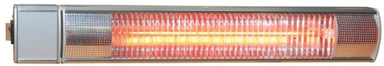 Centuray IR15S. Infrared Patio Heater, 64 sq-ft, 1500 W, 1 Phase