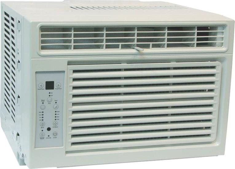 Comfort-Aire RADS-81M 4-Way Room Air Conditioner With Remote, 8000 BTUH, 214 cfm, 300 - 350 sq-ft, 1.90 pt/hr