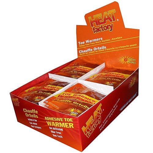 Heat Factory Adhesive Toe Warmers, Box of 40