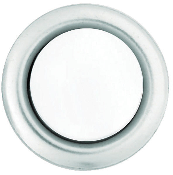 SL-604-02 SLV DBELL BUTTON
