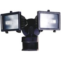 Dual Brite HZ-5512-BZ Security Light, 120 VAC, 300 W, Halogen, Medium (E26), 150 W