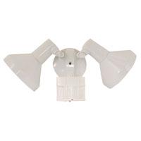 Zenith SL-5412-WH-B Motion Sensor Floodlight, 120 VAC, 150/300 W