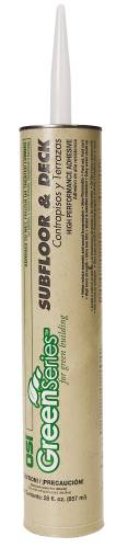 SUBFLOOR AND DECK ADHESIVE 28 OZ.