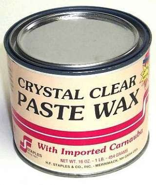 212 4# CLEAR PASTE WAX