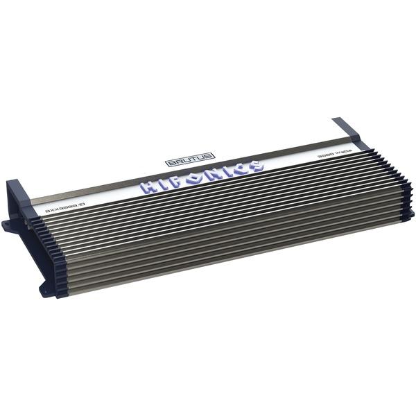 Hifonics BXX3000.1D BRUTUS BXX Series Monoblock Super D Class Subwoofer Amp (3,000 Watts)