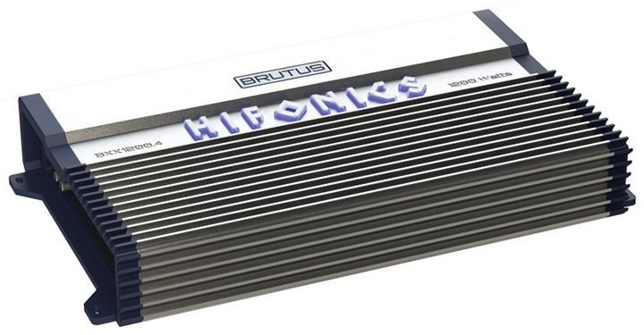 Hifonics Brutus 4 x 150 @ 4 Ohms 4 x 300 @ 2 Ohms 2 x 600 Watts @ 4 Ohms Bridged