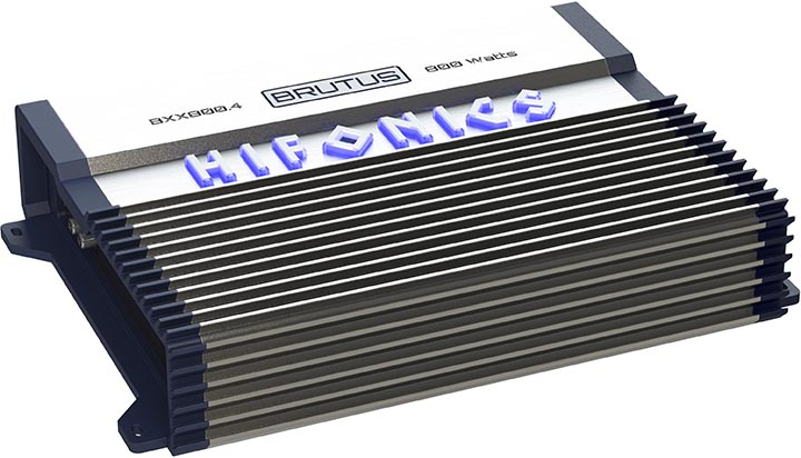 Hifonics Brutus 4 x 100 @ 4 Ohm 4 x 200 @ 2 Ohm 2 x 400 Watts @ 4 Ohms Bridged