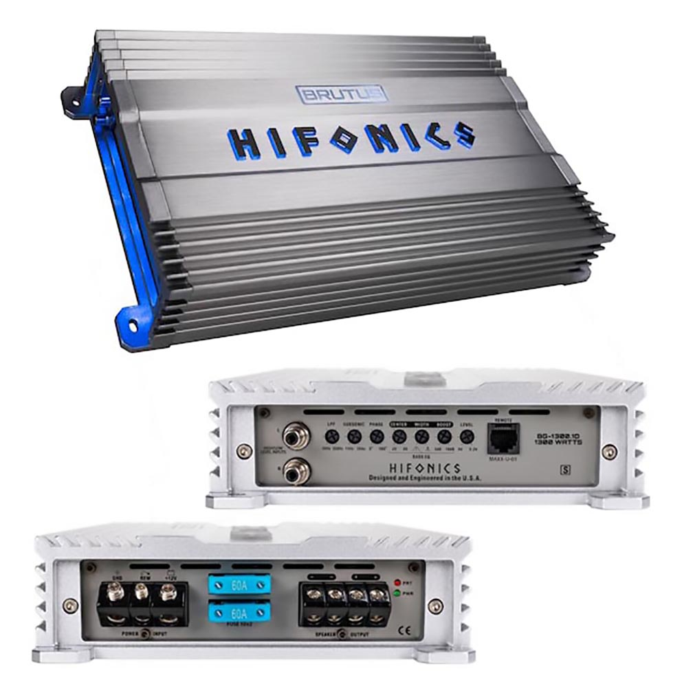 Hifonics Brutus Gamma Series 1 x 1300 Watts @ 1 Ohm Mono