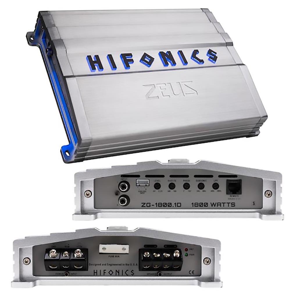 Hifonics Zeus Gamma Series 1 x 1800 Watts @ 1 Ohm Mon