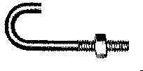 11026 J5-3 5/16X3 IN. J-BOLT