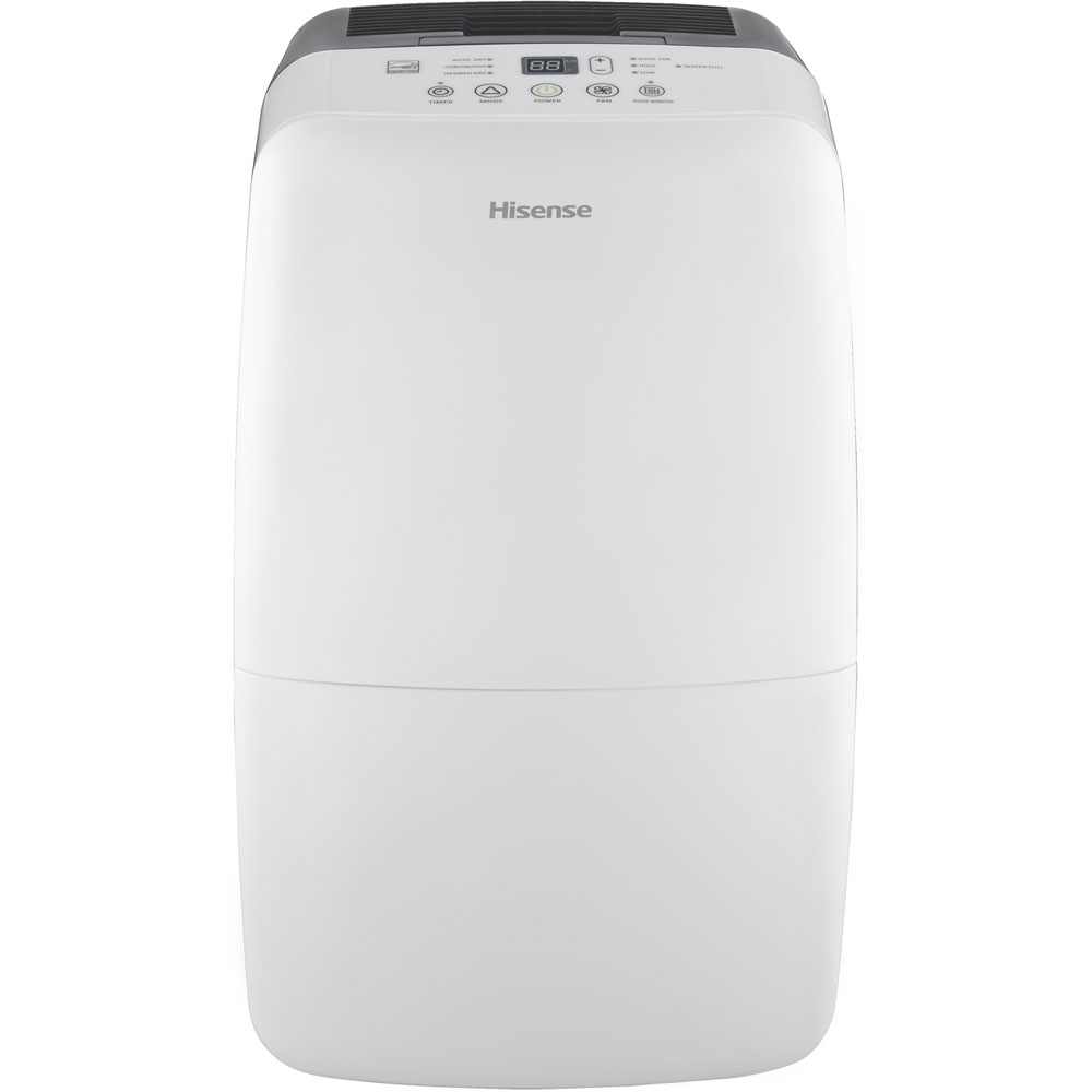 50 Pint Dehumidifier with Built-in Pump, Electronic Controls