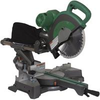 Hitachi C10FSBP4 Double Bevel Sliding Compound Corded Miter Saw, 120 VAC, 12 A, 10 in Dia