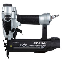 Hitachi NT50AE2 Lightweight Finish Nailer, 100 Nails, 5/8 - 2 in 18 ga Strip Nail, 70 - 120 psi