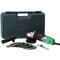 Hitachi G12SR3 Corded Angle Grinder, 6 A, 1010 W, 10000 rpm, 4-1/2 in Wheel, 5/8-11 Shank