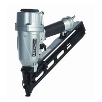 Hitachi NT65MA4 Angled Finish Nailer, 100 Nails, 1-1/4 - 2-1/2 in 15 ga Adhesive Collated Nail