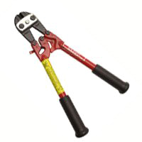 H.K. Porter 0190MC Center Cut Industrial Grade Bolt Cutter, 24 in OAL, Forged Alloy Steel Blade