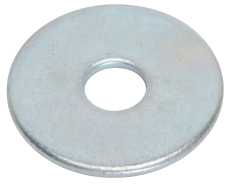 "FENDER WASHERS 1/4"" X 1-1/2"", 100 PER PACK"