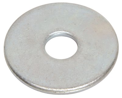 FENDER WASHERS 1/4 IN. X 1 IN., 100 PER PACK