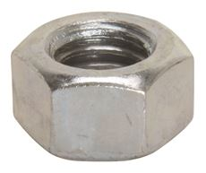 HEX NUTS, FINISHED, 3/8 IN. X 16 IN., 100 PER PACK