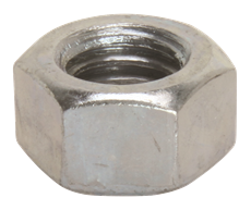 HEX NUTS, FINISHED, 1/4-20, 100 PER PACK