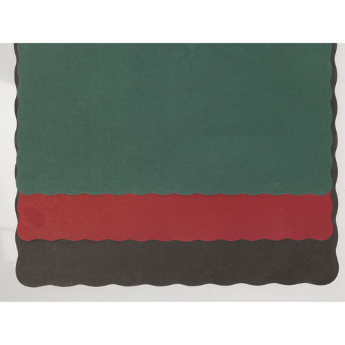 Fire Red Solid Color Placemats, 1,000 Placemats