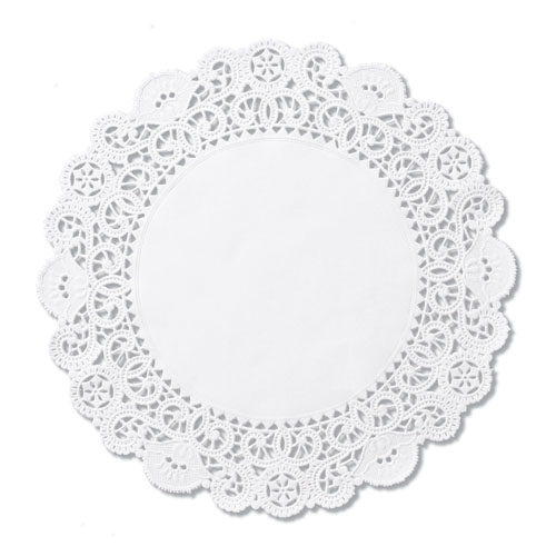 "10"" Round Cambridge Lace Doilies, 1,000 Doilies"