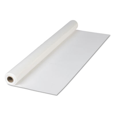 "Plastic Roll Tablecover, 40"" x 300 ft, White"