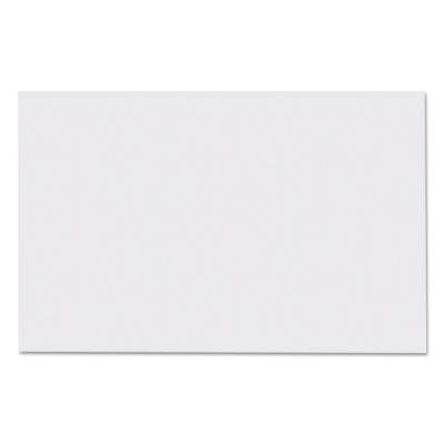 Straight Edge Paper Bath Mat, 14 x 21 1/4, White, 500/Carton