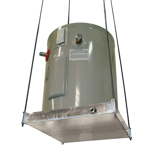 SUSPENDED WATER HEATER PLATFORM WITH PAN 26-1/2 IN. X 26-1/2 IN. DIA