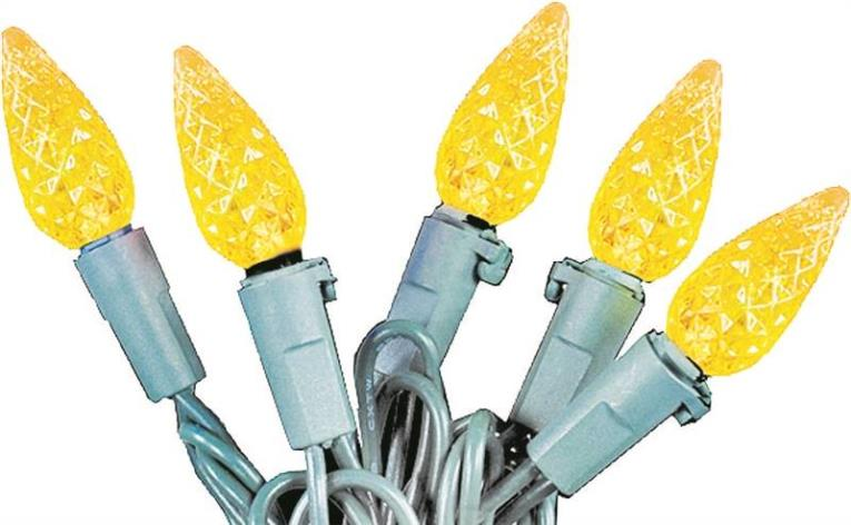 BULBS REPLMT LED C6 YELLOW