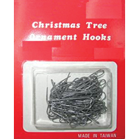 Holiday Trims 3927000 Ornament Hooks, Combo, 150 Ct