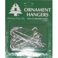 Holiday Trims 3925000 Ornament Hooks, Giant, 50 Ct