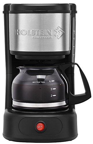 Holstein Housewares 5 Cup Coffee Maker Black