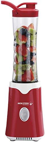 Holstein Housewares Personal Blender Red/White