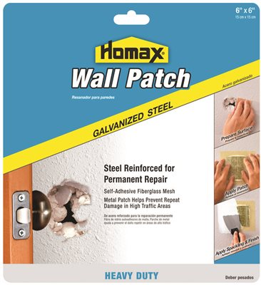 HOMAX WALL PATCH 6 IN. X 6 IN.
