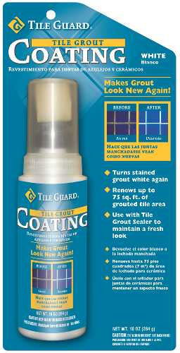 TILE GROUT COATING, 10 OZ., WHITE