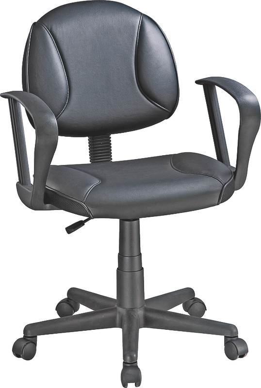 Office Chair With Arm Black