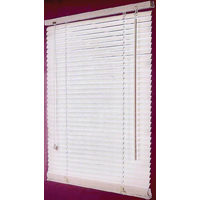 BLIND FAUX WOOD WHITE 23X42IN