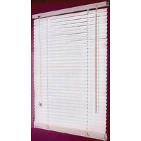 BLIND FAUX WOOD WHITE 36X64IN