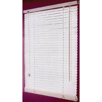 BLIND FAUX WOOD WHITE 47X64IN