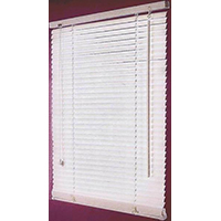 BLIND FAUX WOOD WHITE 23X72IN