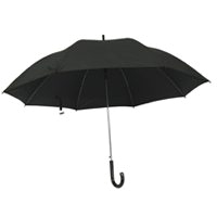 UMBRELLA RAIN 27IN BLK DELUXE