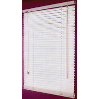 BLIND FAUX WOOD WHITE 43X64IN