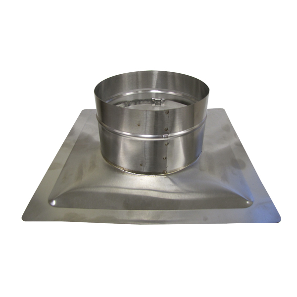 "HomeSaver Pro and UltraPro 3"" diameter, 13""x13"" Pyramid CollarPlate"