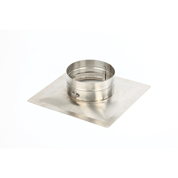 "HomeSaver Pro and UltraPro 4"" diameter, 13""x13"" Pyramid CollarPlate"